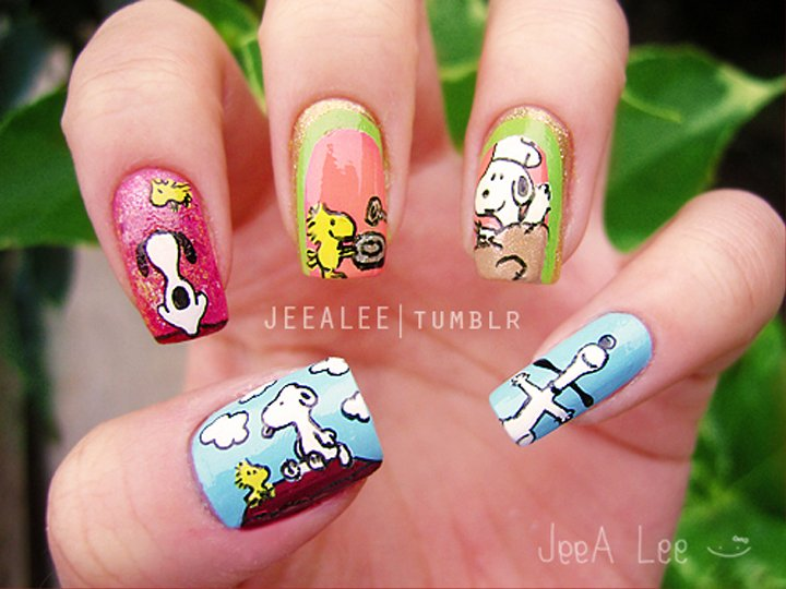 """<p>Snoopy and Woodstock by <a href=""""http://jeealee.tumblr.com/"""">Stephnie Lee</a>, Irvine, Calif.</p>"""