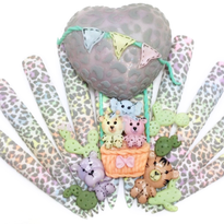 NTNA S.6 Challenge 2: Pastel Animal Print Nail Art (Jenna)