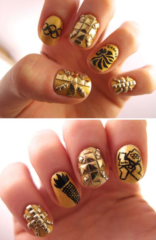 <p>This design is by nail tech Jenny Pasha.</p>
