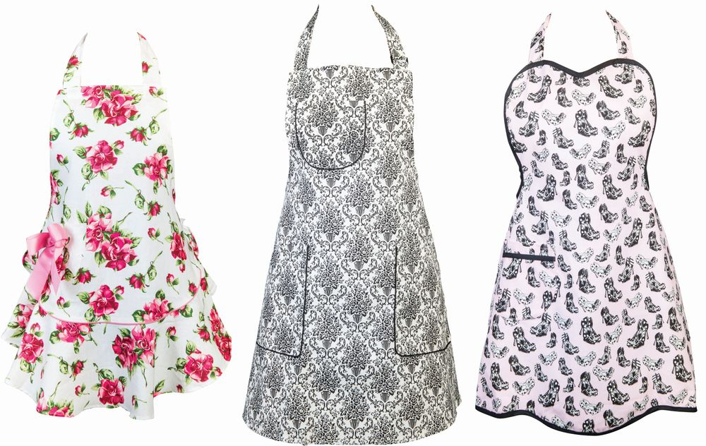 """<p><a href=""""http://www.jessiesteele.com/"""">Jessie Steele</a>&rsquo;s newest collection features a return to the apron company&rsquo;s design roots of flirty, feminine, and fun designs. These figure-flattering aprons have flounce in their shape and fun patterns that can complement any salon style.</p>"""
