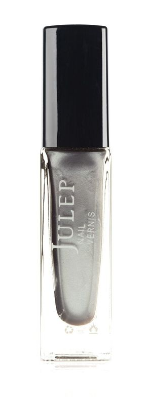 <p><strong>Julep Nail Vernis</strong> in Leighton is a pure liquid silver.</p>