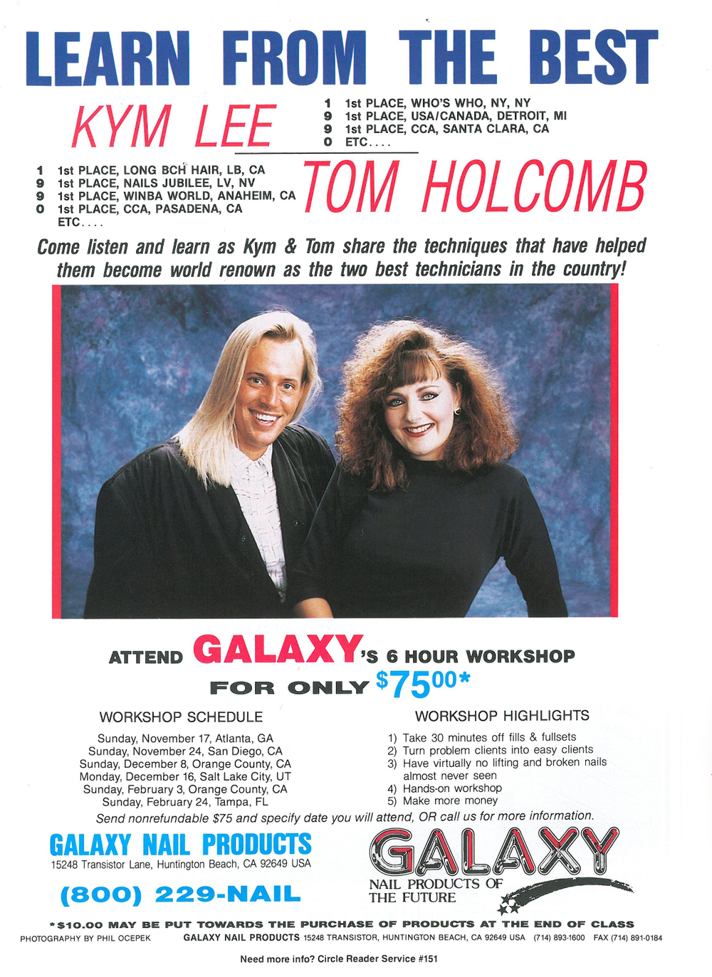 """<p>Tom Holcomb worked with Galaxy early on with their """"Learn from the Best"""" team.</p>"""