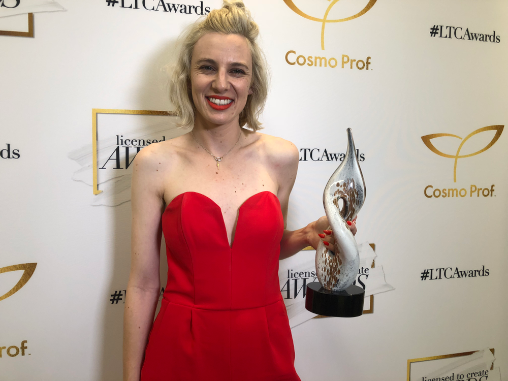 <p>Winner of the nail category at the License to Create Awards: Katie Masters (@nailthoughts)</p>