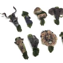 NTNA S. 6 Challenge 2:  Wildlife Acrylic Nail Art (Kelsey)