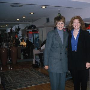Debbie Krakalovich (left) and NAILS editor Cyndy Drummey (right)