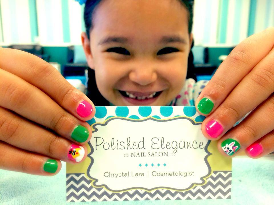 <p>Chrystal Lara<br />Polished Elegance Nail Salon, Del Rio, Texas</p>