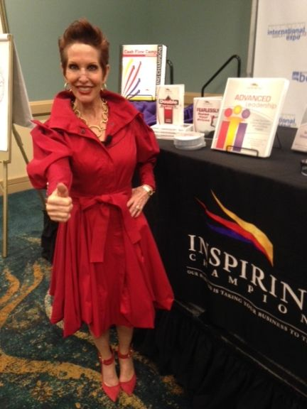 <p>Lauren Gartland of Inspiring Champions motivated techs with her high-energy classes.</p>