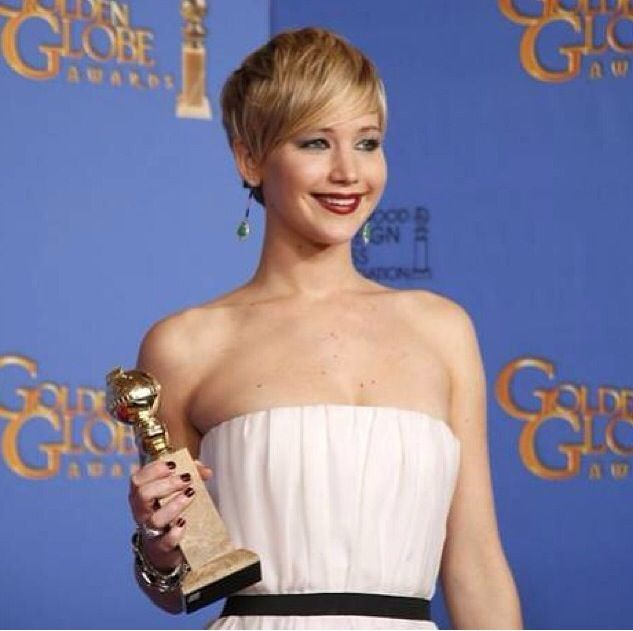 <p>Deborah Lippmann polished Golden Globe winner Jennifer Lawrence's nails in Bitches Brew. Image via @deborahlippmann.</p>