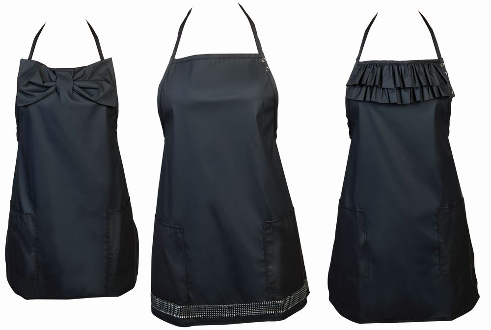 """<p>Each apron in the<a href=""""https://www.etsy.com/shop/LovelyApronBoutique""""> Lovely Apron Boutique</a> can add a little lovely to your salon attire. Aprons are waterproof, chemical- and bleach-resistant, and come with added details that make them stand apart from other aprons on the market.</p>"""