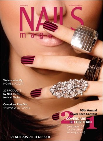 <p>Kandalec won NAILS' Cover Tech Contest in 2010, which increased her visibility.</p>