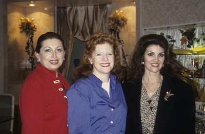 <p>L-R: Tamara Friedman, Cyndy Drummey,Rene Skrocki</p>