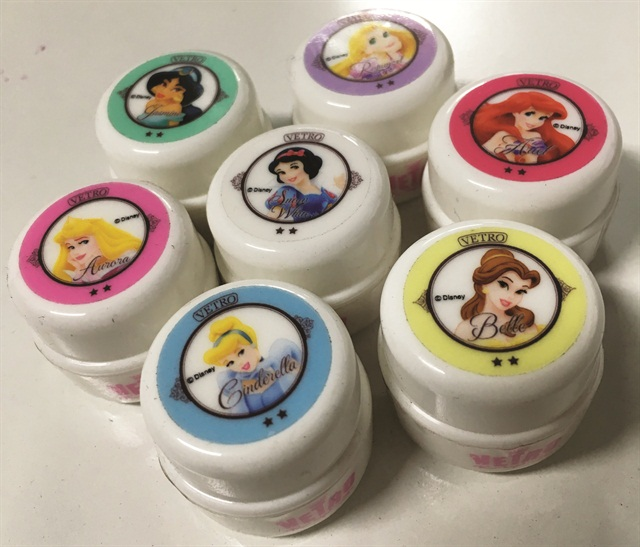 <p>Manufacturer Vetro's Disney Princess gel pods are indicative of the larger gel pod trend in Japan. Photo courtesy @HiJeanJean</p>