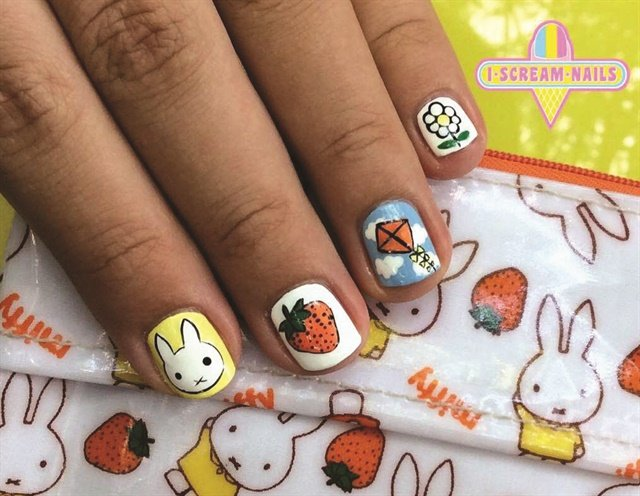 The Mix and Match 5 is the most popular service at nail art-focused salon I Scream Nails.