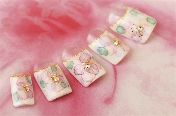 <p>Nails by Michiko Matsushita, Ci:Z International College, Tokyo</p>
