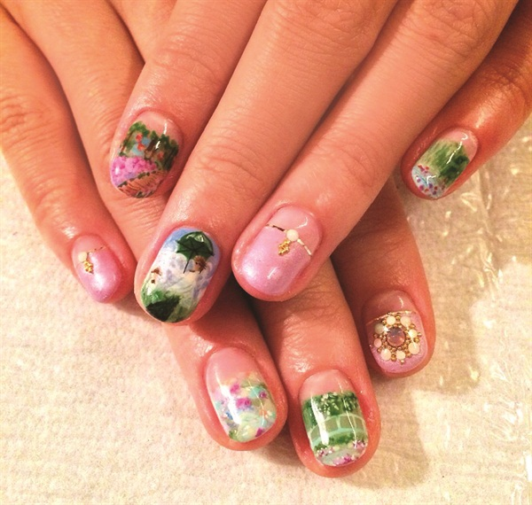 "<p>Nails by Hanayo ""Hana4"" Ohno</p>"