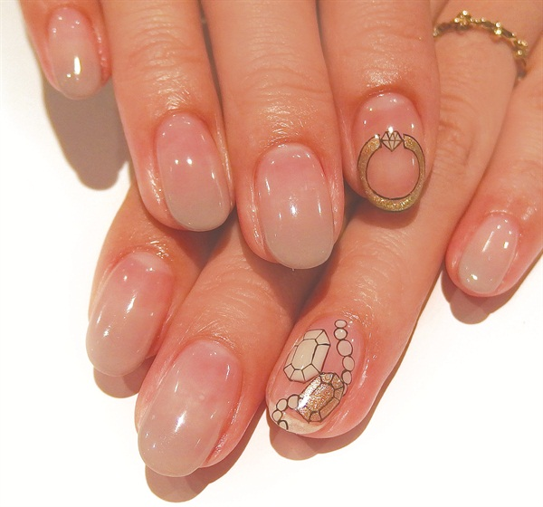<p>Nails by Kayo Shimoda, Nail Salon Avarice, Tokyo</p>