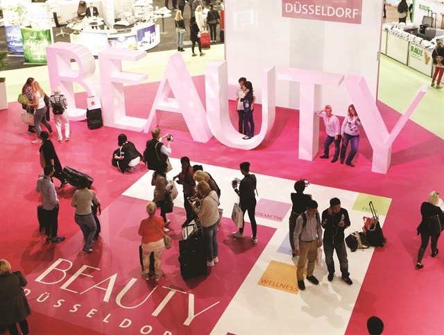 Beauty Düsseldorf has more exhibitors than any beauty show in the United States.