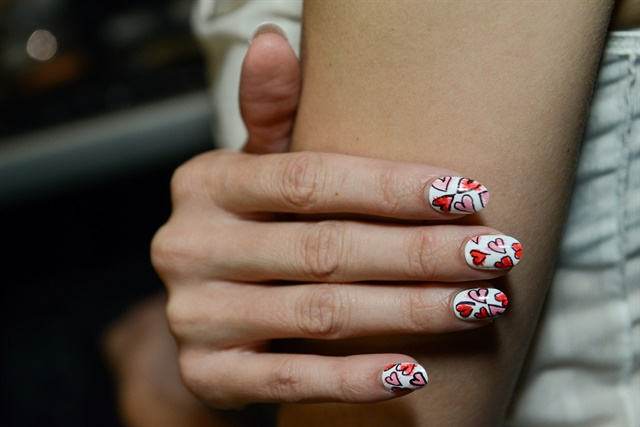 China Glaze for Rachel Antonoff.Photos courtesy of ©MatthewCarasella/SocialShutterbug.com