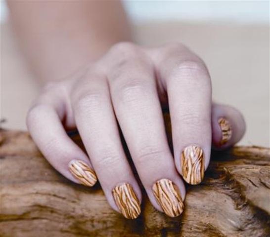 Nail art faux textures style nails magazine nail art faux textures prinsesfo Image collections
