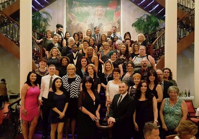 <p>A group shot from the 2017Nail Those Profits cruise.</p>