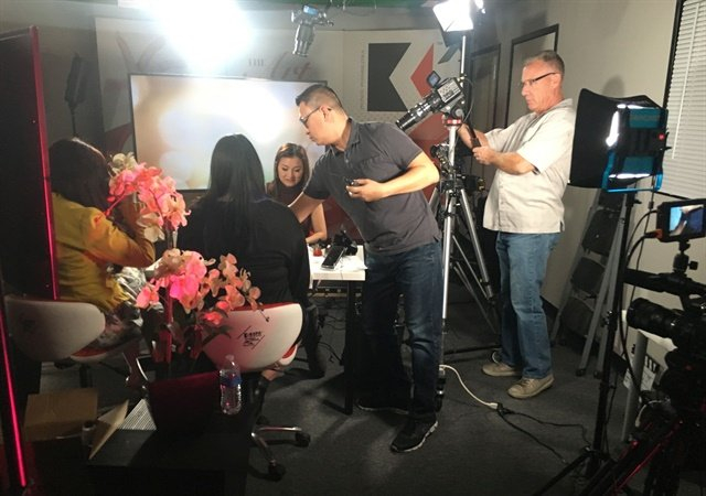 <p>It takes a team and several cameras to make Kupa's Facebook Live videos look so amazing</p>