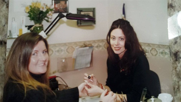 One of my first salon visits with Darlene Feric in Illinois.