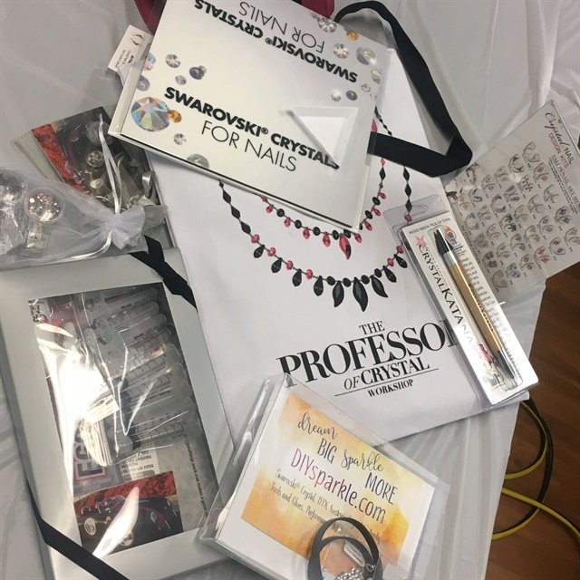 Attendees received a generous bag of goodies to use in class, then take home.