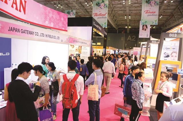 The launch of the Vietbeauty 2016 tradeshow is a sign of growth of the Vietnamese professional beauty market.