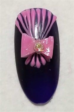 <p>A nail by my classmate Sheila.</p>