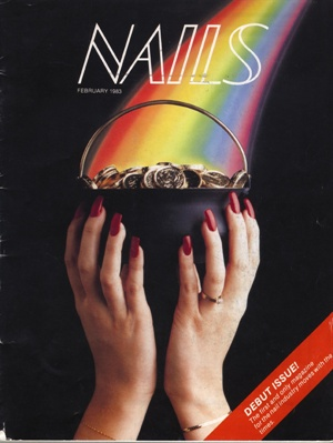 <p>The very first edition of NAILS Magazine (February 1983).</p>