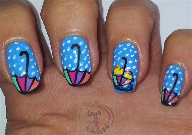 Via 365+ days of nail art