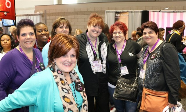 Networking and education means making friends and learning more about nails — it's a win-win.