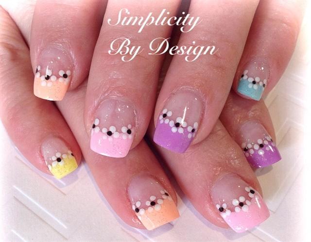 Day 134: Pink Spring Nail Art - - NAILS Magazine