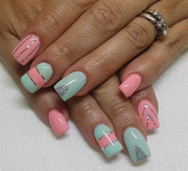Pink Nail Art: Day 41: Pretty In Pink Nail Art