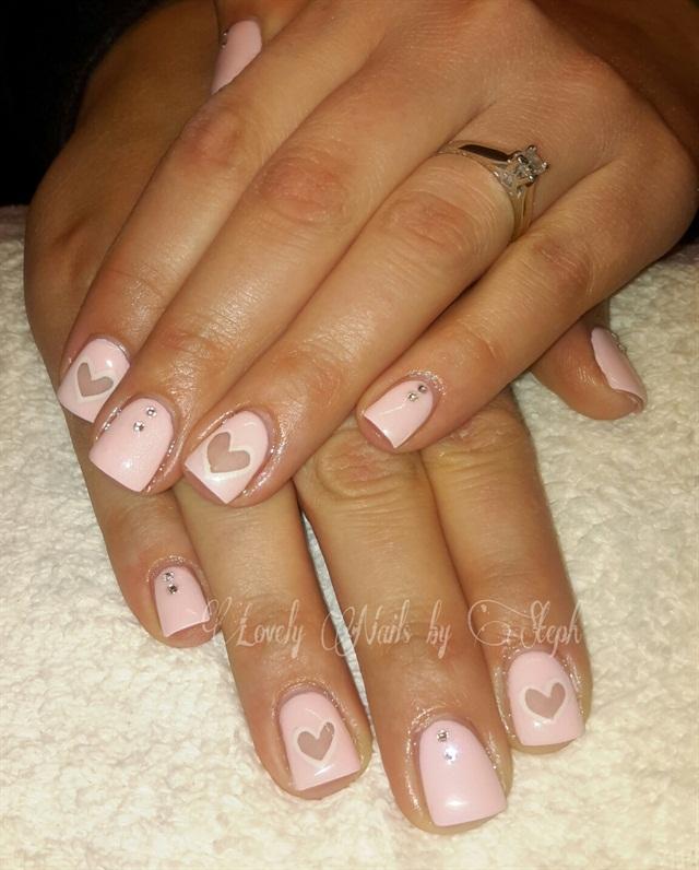 Day 47 Pale Pink Nail Art Nails Magazine