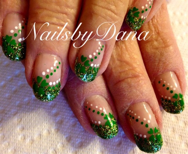 Dana Losser, Nails by Dana, Payson, Utah - Day 64: Shamrock Nail Art - - NAILS Magazine