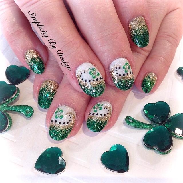 Day 69 Emerald Isle Nail Art Nails Magazine