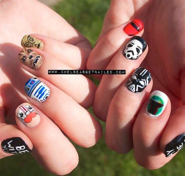 Day 125 Star Wars Day Nail Art Nails Magazine