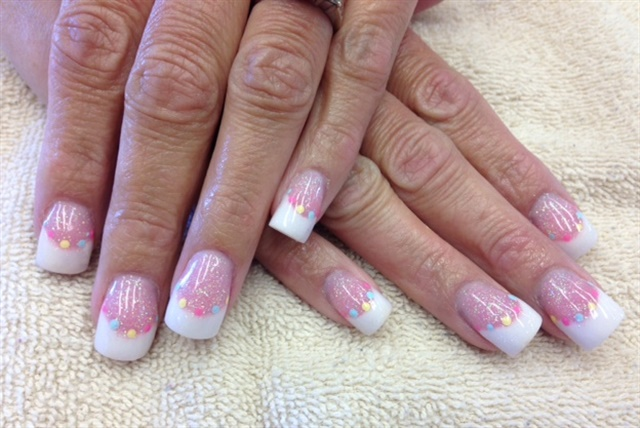 Day 102 eggcellent french nail art nails magazine tiffany torres dinfinity salon santa maria calif keywords easter nail art french prinsesfo Image collections