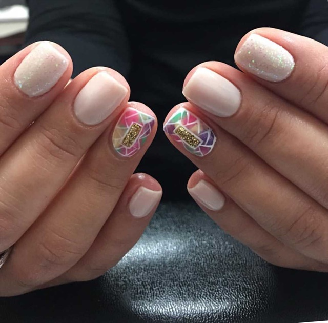 Day 114 geometric nail art nails magazine nuri martinez salon m florham park nj keywords geometric nail art prinsesfo Images