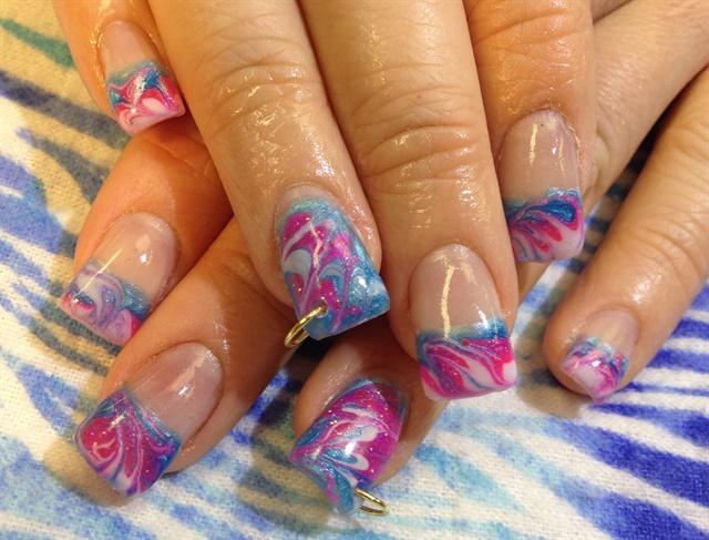 Day 128 Seasonal French Nail Art Nails Magazine