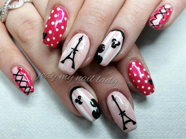 Day 161 Parisian Polka Dot Nail Art Nails Magazine