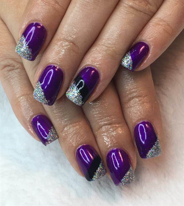 Day 189 Silver Foil Nail Art Nails Magazine