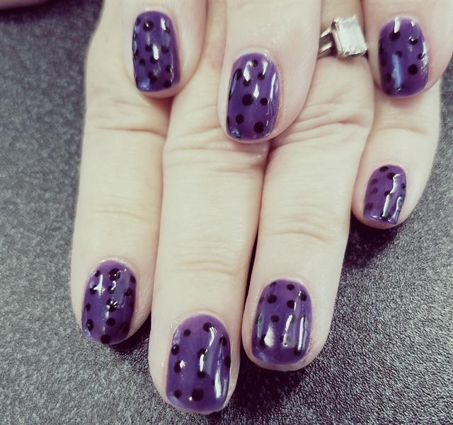 Day 205 Stripes Spots Nail Art Nails Magazine