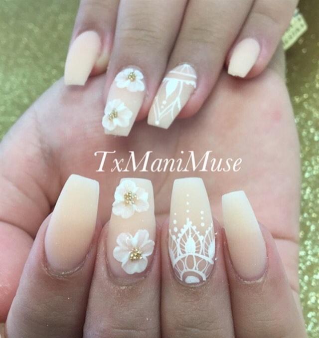 Day 215 White Matte Nail Art Nails Magazine