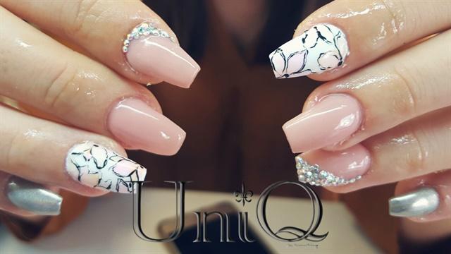 Merces Mayer, Uniq, Almada, Portugal. Keywords: nail art - Day 218: Unique Nail Art - - NAILS Magazine