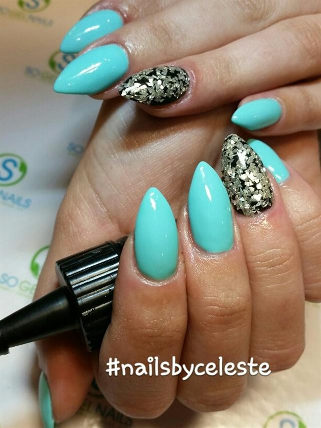 Day 247: Glitter Accent Nail Art - - NAILS Magazine