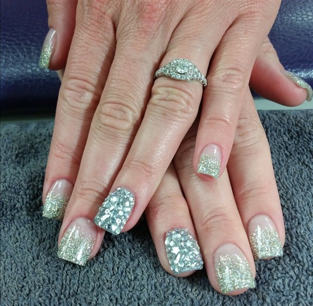 Day 249 gem nail art nails magazine mandy wagner creative points salon mckeesport pa keywords embellished nail art prinsesfo Gallery