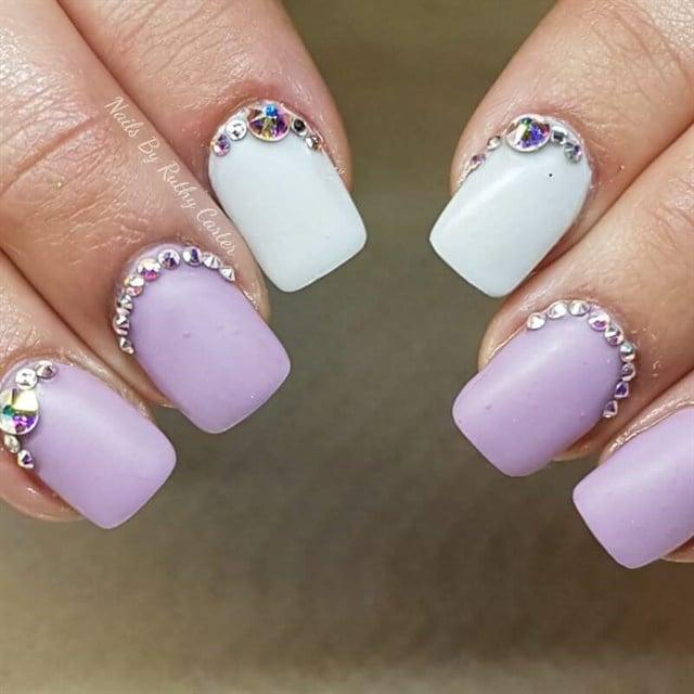 Day 272 rainbow gem nail art nails magazine prinsesfo Gallery