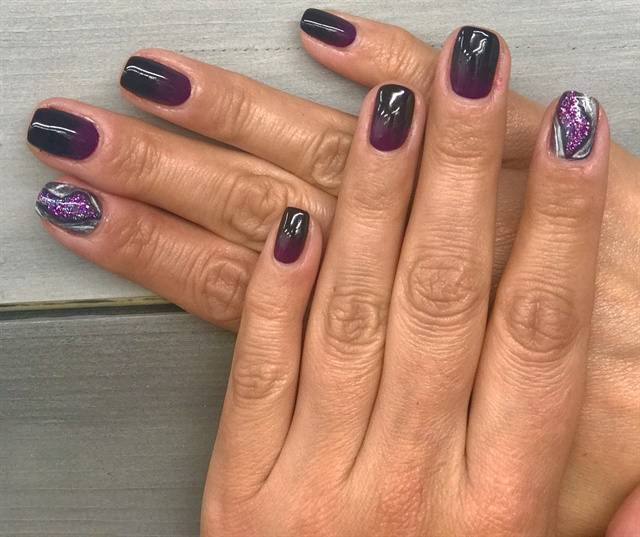 Day 294 purple geode nail art nails magazine maddie williams village hair and spa sioux falls sd prinsesfo Image collections